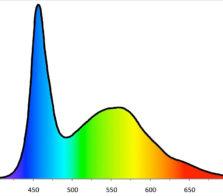 Wachsen LED-Spektrum