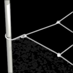 """0.83/"""" Grow Tent poles Secret Jardin Monkey pôle Ventilateur 16 W pour 0.63/"""""""